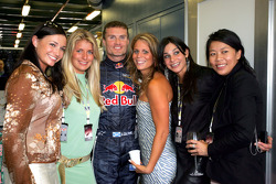 David Coulthard with Red Bull Racing guests