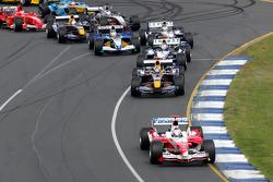 First corner: Jarno Trulli