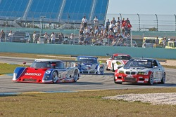 Southard Motorsports BMW Riley : Shane Lewis, Darius Grala; Prototype Technology Group BMW M3 : Joey Hand, Bill Auberlen