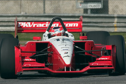 Jimmy Vasser  laps the infield road course at California Speedway