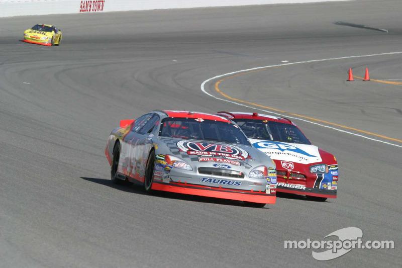 John Andretti y Kyle Petty