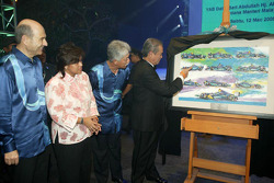 Petronas commemorates 10 years in Formula One
