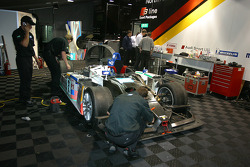 ADT Champion Racing paddock area