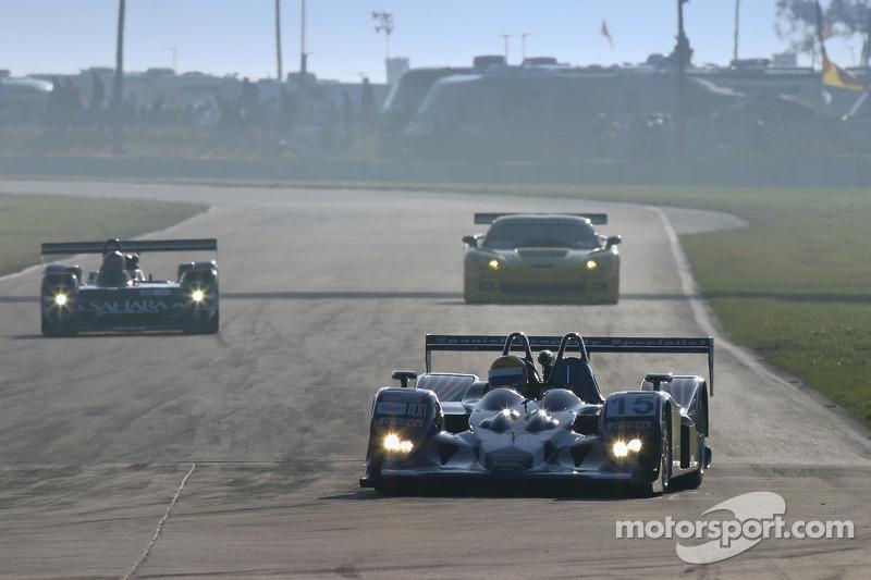#15 Binnie Motorsports Lola B05/42 Nicholson McLaren: Adam Sharpe, William Binnie, Robert Julien