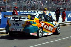 Anthony Tratt on pit straight