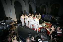 Mika Hakkinen, Bruno Spengler, Jean Alesi, Stefan Mücke, Alexandros Margaritis, Jamie Green and Gary Paffett