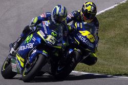 Valentino Rossi und Sete Gibernau