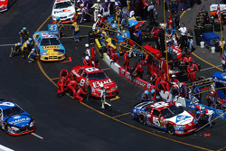 Yellow flag pit stops