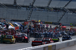 Busy pit road
