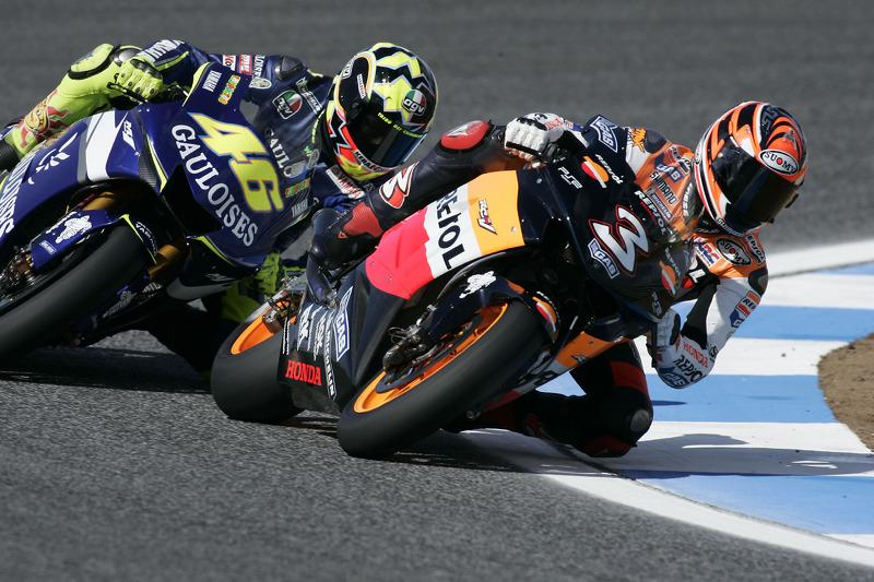Última temporada de Max Biaggi en MotoGP