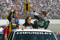Drivers presentation: Kurt Busch and Carl Edwards