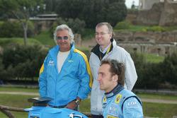Flavio Briatore and Franck Montagny