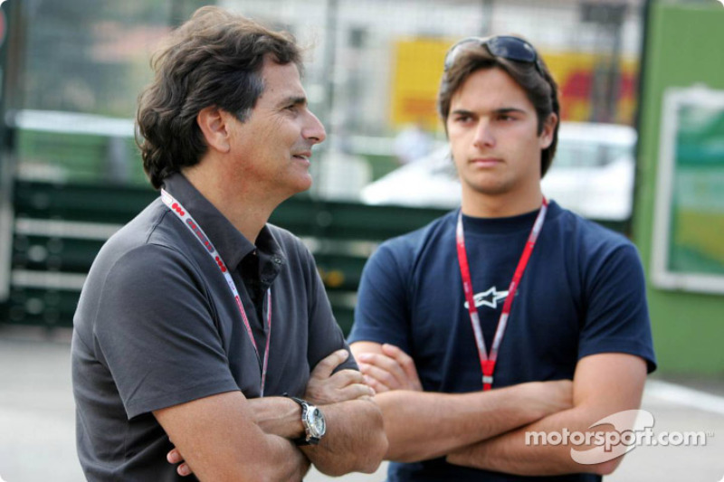 Nelson Piquet and Nelson A. Piquet