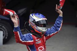Race winner Heikki Kovalainen