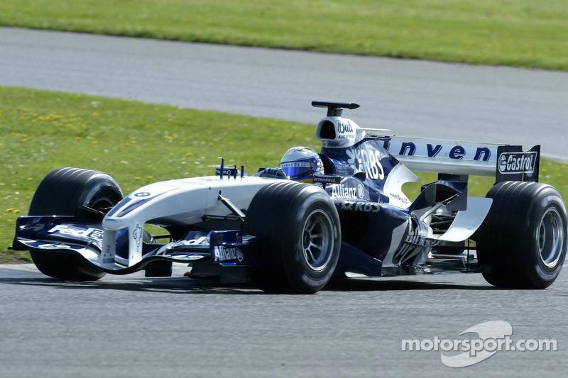 2005: Probador de Williams