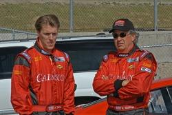 Blackhawk Racing photoshoot: Alex Gurney and Bob Stallings
