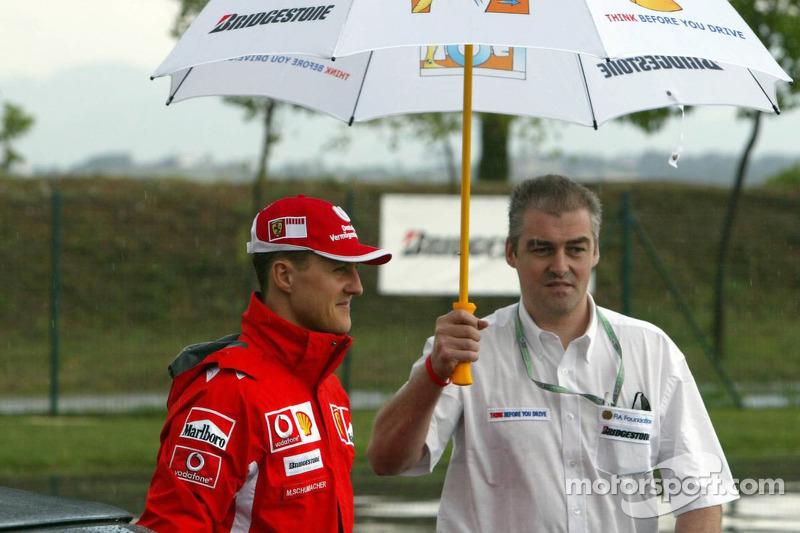 FIA Foundation, Bridgestone - Road Safety Campaign 'Think before you drive': Michael Schumacher