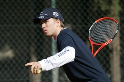 F1 Tennis Charity for the Northampton Intensive Care Unit at the Sanchez-Casal Open Tennis Academy: Nick Heidfeld
