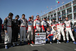 FIA-GT drivers send a message to Walter Lechner Jr.