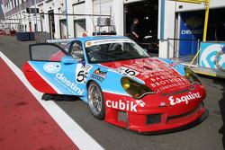 Porsche 911 GT3 RSR of Collins and Cunningham