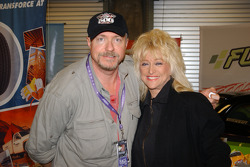 The legendary 'First Lady of Motorsports' Linda Vaughn