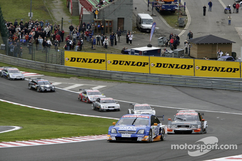 Marcel Fassler, Opel, in 2005 Spa DTM race