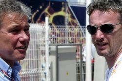 Craig Pollock and Eddie Irvine