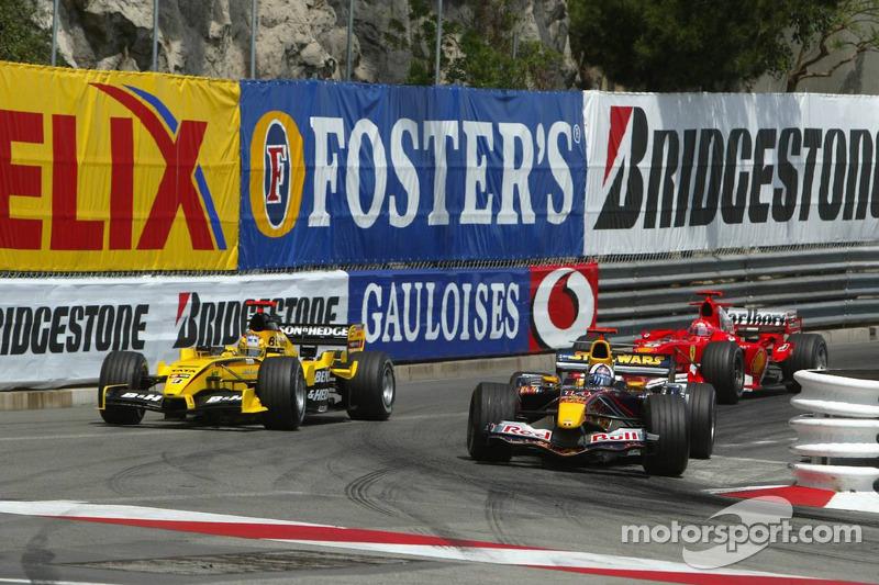 David Coulthard y Tiago Monteiro