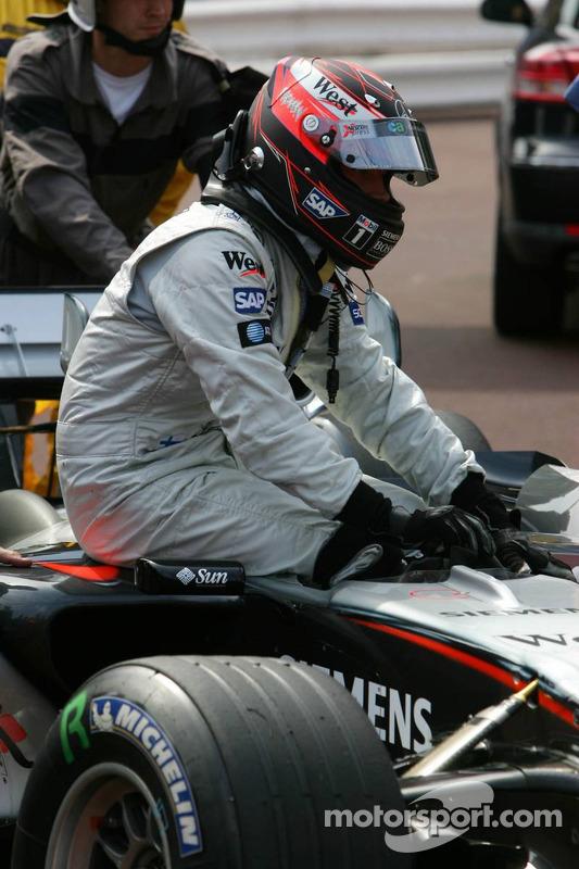 Ganador de la pole Kimi Raikkonen