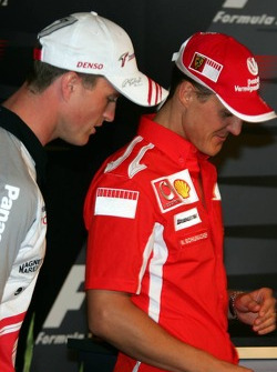 FIA Thursday press conference: Ralf Schumacher and Michael Schumacher