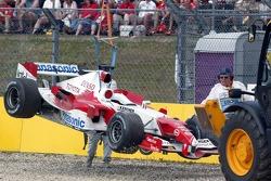 Ralf Schumacher out