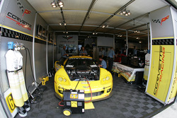Corvette Racing garage area