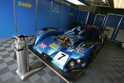 Creation Autosportif garage area
