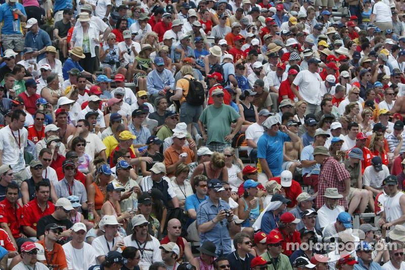 Full house at Circuit Gilles-Villeneuve