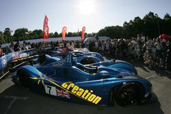 Creation Autosportif DBA Judd waits for scrutineering