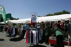 Vendors area at scrutineering