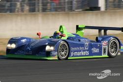 #8 Rollcentre Racing Dallara Nissan: Bobby Verdon-Roe, Michael Krumm, Harold Primat