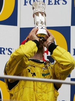 Podio: tercer lugar Tiago Monteiro
