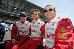 Marino Franchitti, Bryan Sellers and Patrick Bourdais