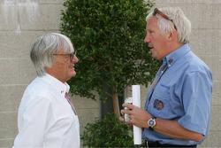 Bernie Ecclestone y Charlie Whiting