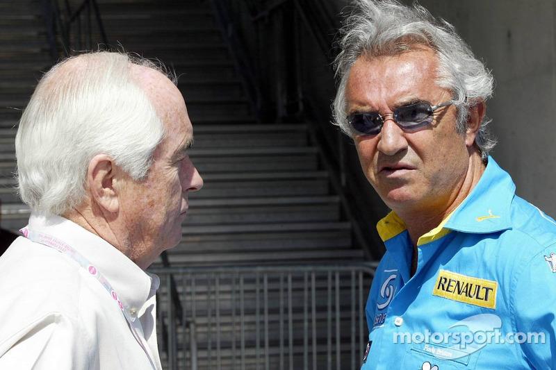Roger Penske y Flavio Briatore