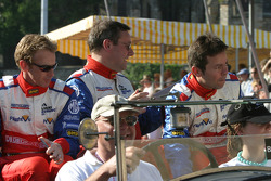 Warren Hughes, Mike Newton and Thomas Erdos