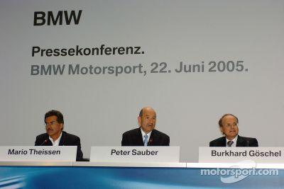 BMW Press conference, Munich