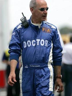 FIA medical delegate Dr Gary Hartstein