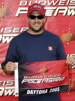 Pole winner Tony Stewart