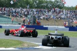 Michael Schumacher and Kimi Raikkonen
