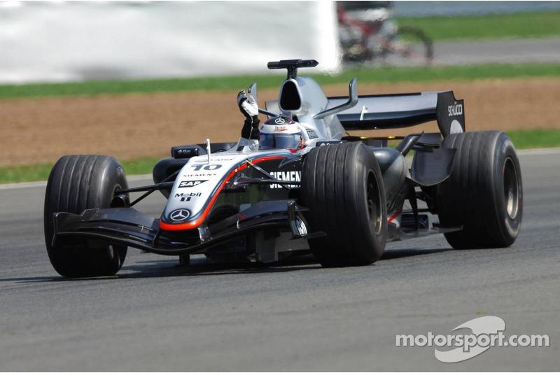 Переможець Хуан-Пабло Монтойя, McLaren-Mercedes