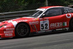 #52 BMS Scuderia Italia  Ferrari 550 Maranello: Fabrizio Gollin, Antonio Coimbra, Matteo Cressoni