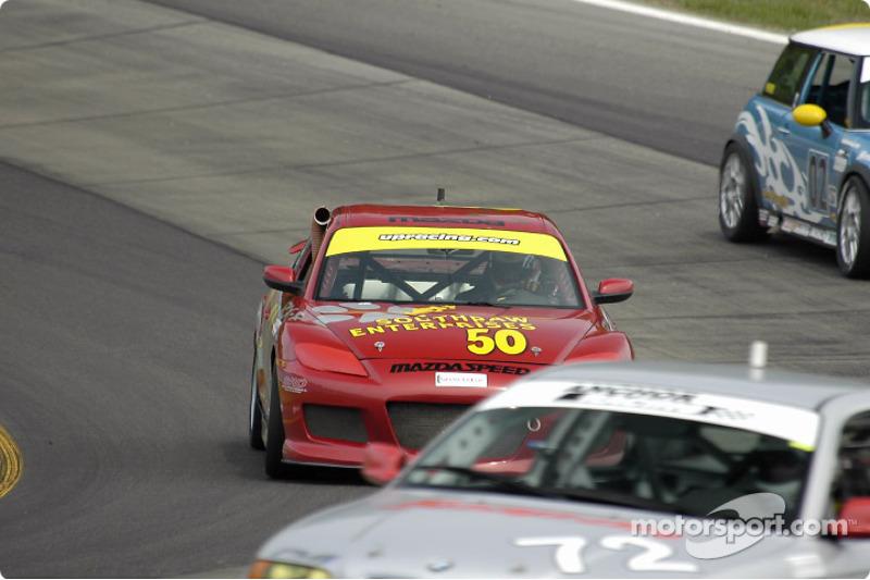 #50 Southpaw Racing Mazda RX-8: Frank Howard, Mark Eaton