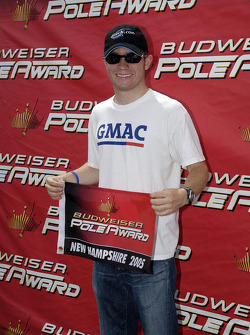 Pole winner Brian Vickers